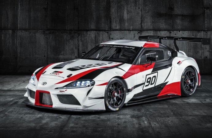 Toyota unveils new Supra, sort of