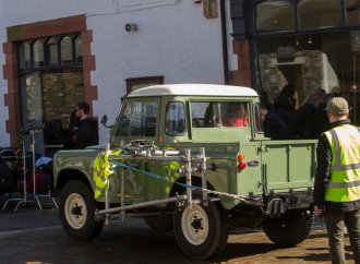 'Peter Rabbit' movie Land Rover going to auction
