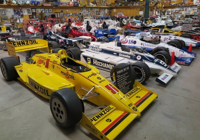 Race car trove heading to auction