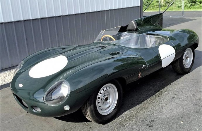 Re-creation 1955 Jaguar D-Type