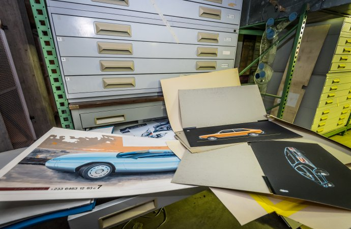 Warehouse of Bertone treasures discovered and going to auction