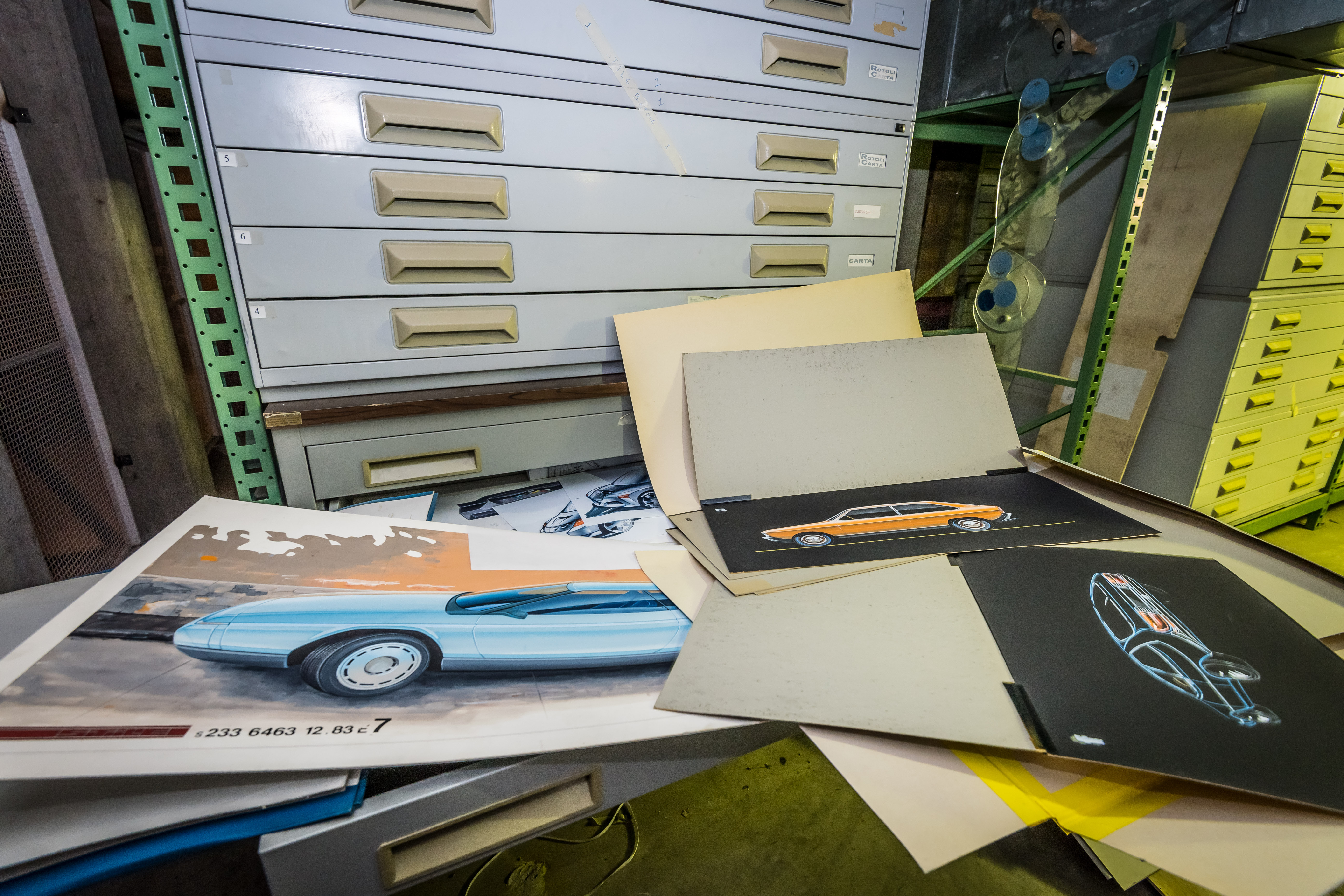 Warehouse of Bertone treasures discovered and going to auction ...