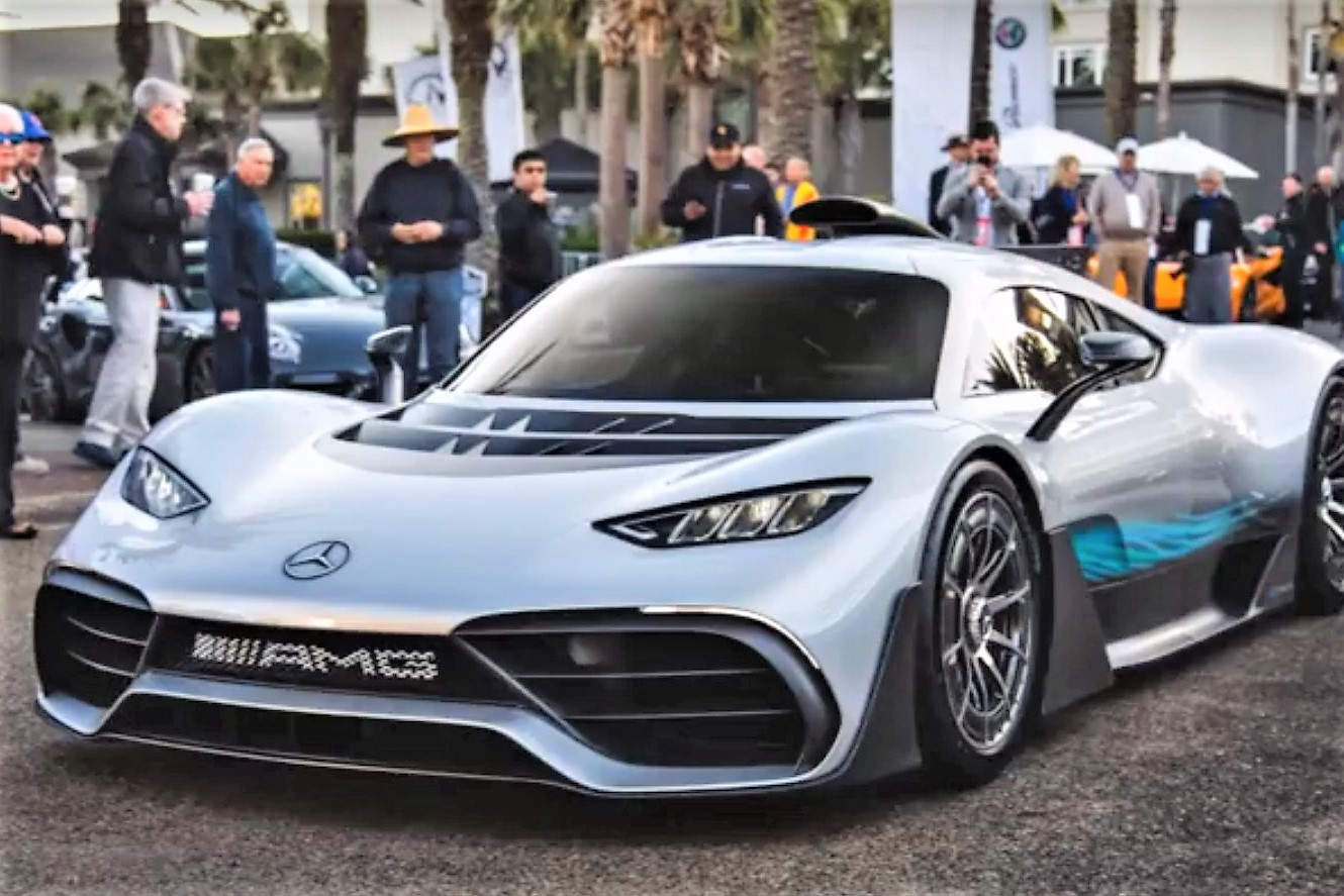 mercedes amg project one arrives at amelia island concours journal. Black Bedroom Furniture Sets. Home Design Ideas