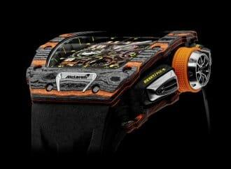 McLaren unveils $200,000 wristwatch
