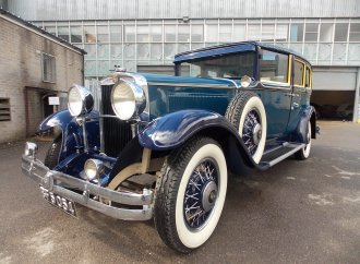 Known for importing Cadillacs, for 26 years Frederic Bennett owned a Nash