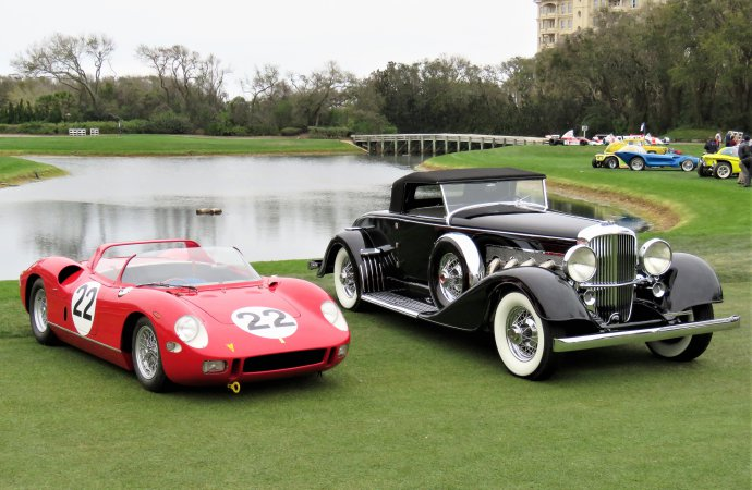 Duesenberg, Ferrari win bests of show at Amelia Island Concours