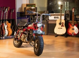 Ex-Beatle's bike sets record at H&H Classics auction