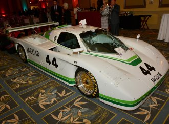 Stars and cars at the Hall of Fame