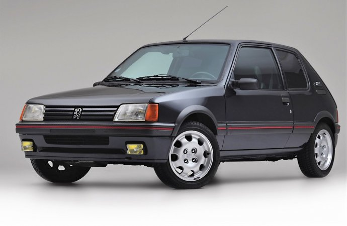 Billionaire's armored Peugeot 205 hatchback up for sale
