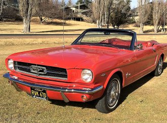 First-year 1964½ Ford Mustang