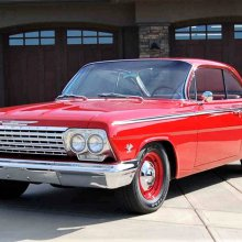 'Bubble-top' 1962 Chevy 409
