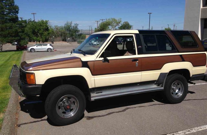 Why does this '85 4Runner look so different?