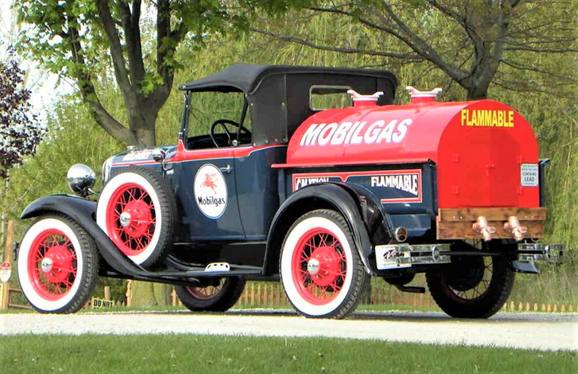 Ford Model A, Tanker-truck 1931 Ford Model A, ClassicCars.com Journal
