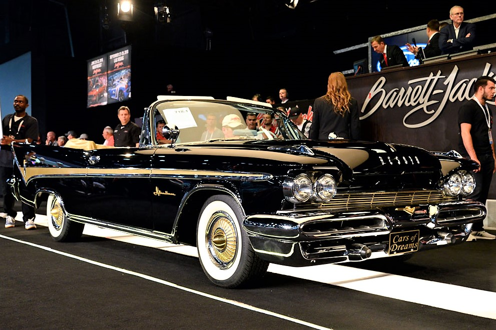 Cars of Dreams,\' Burt Reynolds lift Barrett-Jackson Florida sale ...