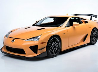 Limited-edition Lexus LFA Nürburgring at Barrett-Jackson
