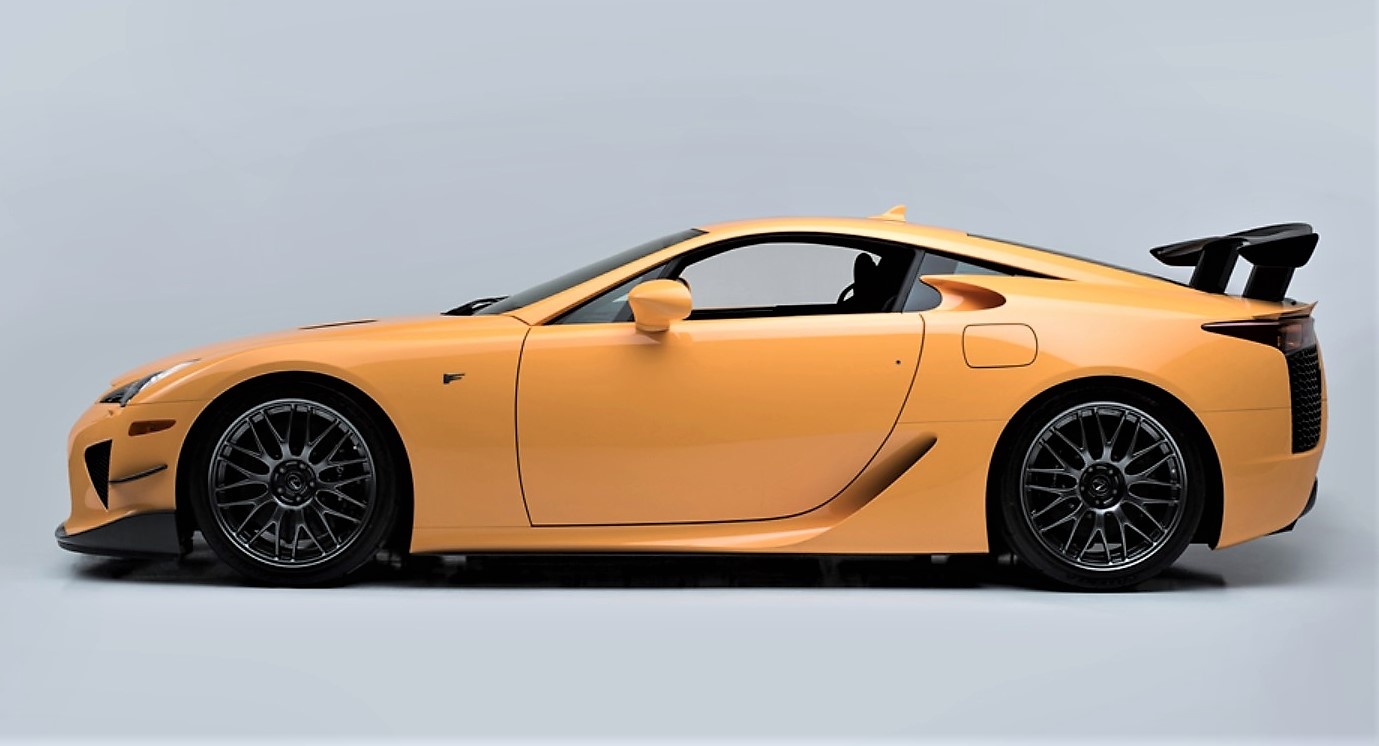 2012 Lexus LFA Nurburgring Edition...only 50 built.