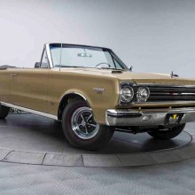 Classic Industries has '67 GTX rocker panel moldings