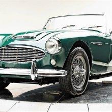 'Big' 1957 Austin-Healey 100/6