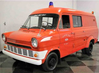 Unique find 1968 Ford Transit van