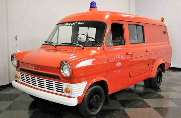 Unique find 1968 Ford Transit van