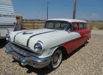 Pop's '56 Pontiac wagon