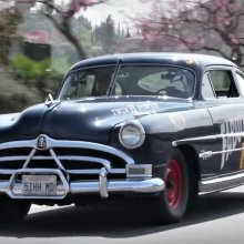 Jay Leno takes a drive in a Fabulous Hudson Hornet