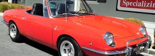 Unusually fine '69 Fiat 850 Spider