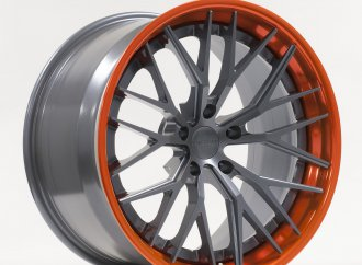 Forgeline features colorful finishes for new wheels