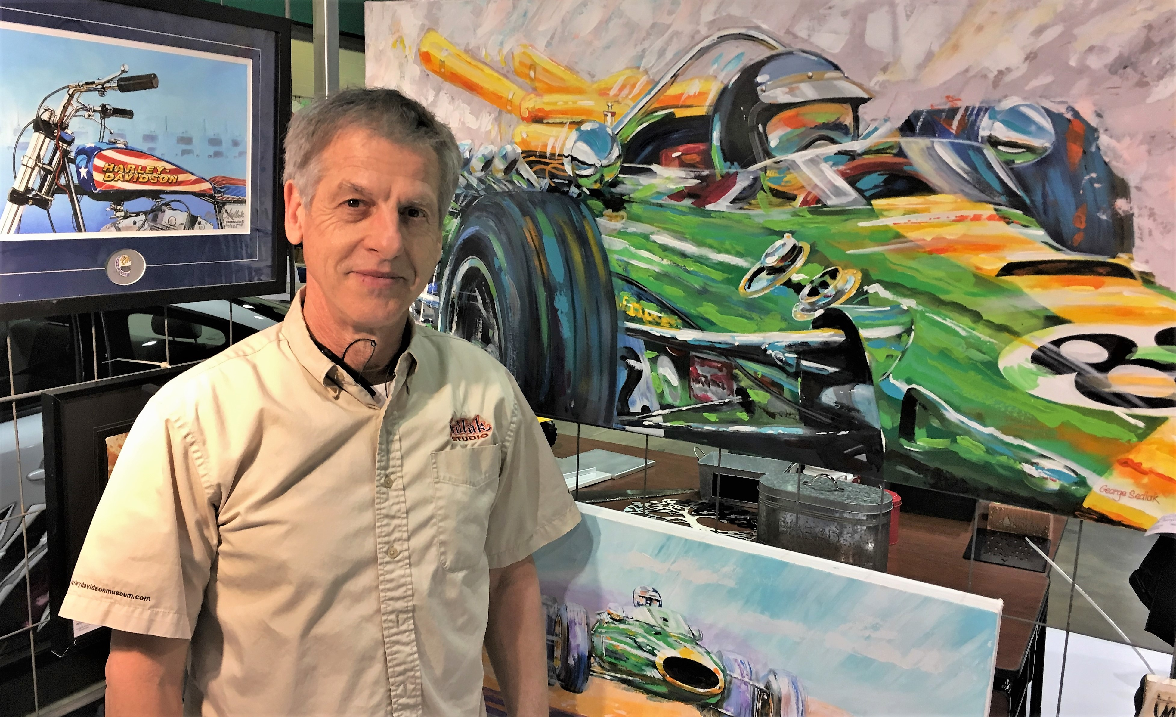 George Sedlak, Color Me Lucky: George Sedlak on becoming Evel Knievel's painter, ClassicCars.com Journal