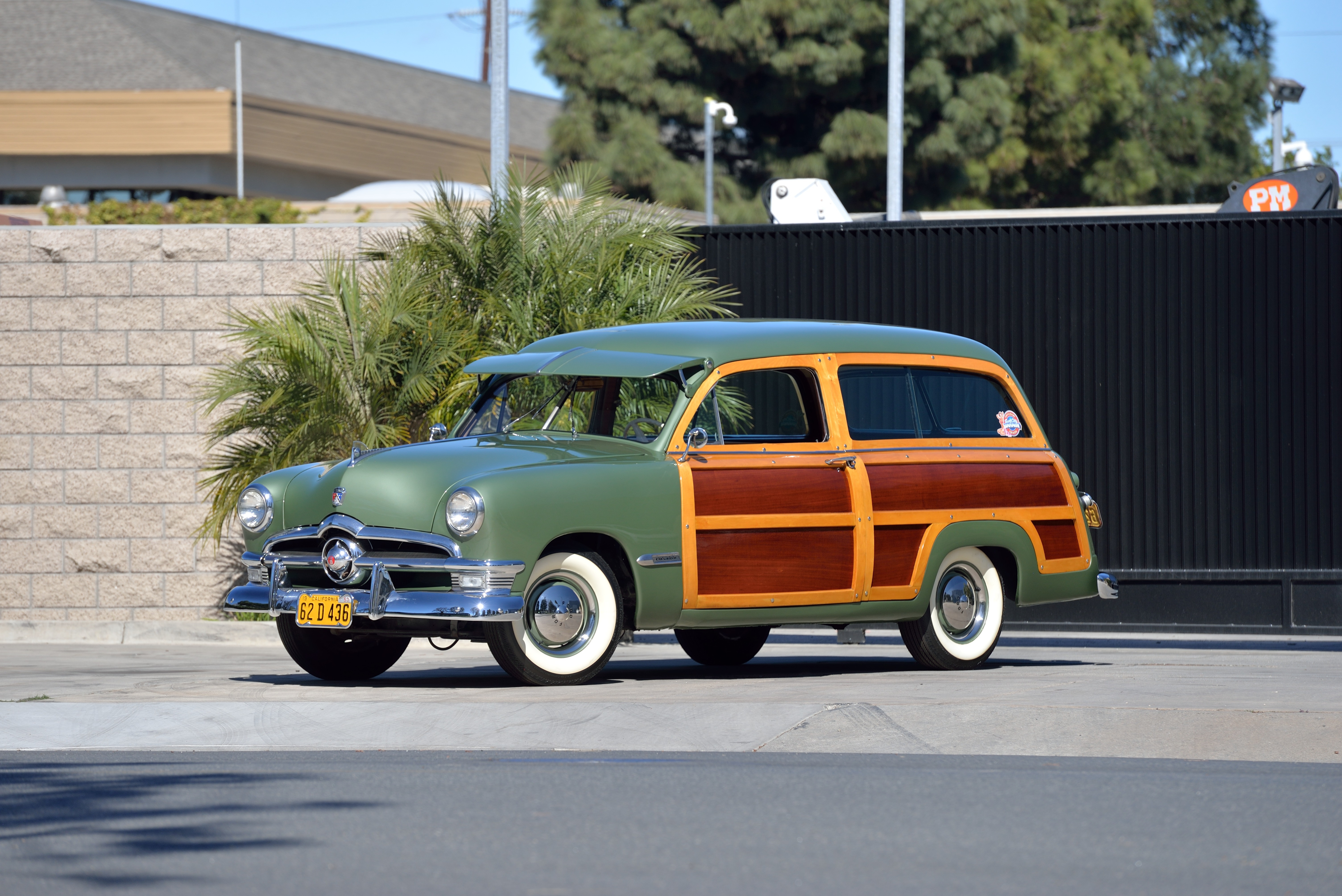 SC18_1950 Ford Custom Deluxe Woody Wagon_R241 - ClassicCars.com Journal