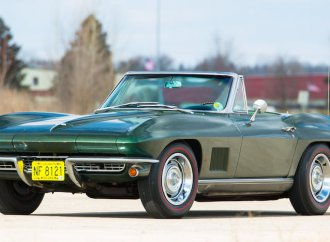 Corvette given to Packers legend Bart Starr hitting auction block