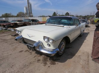 Hundreds of finned cars, rare Cadillacs hit Texas auction block