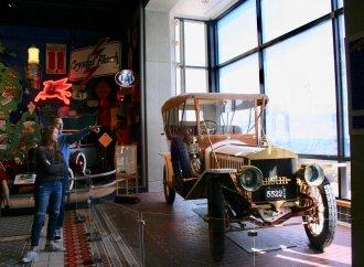 Michigan's Furniture City also produced automobiles