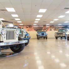 Jeepsters (and rock) creepers! Jeep collection is large, historic