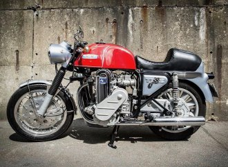 Bonhams boasts very strong spring motorcycle auction