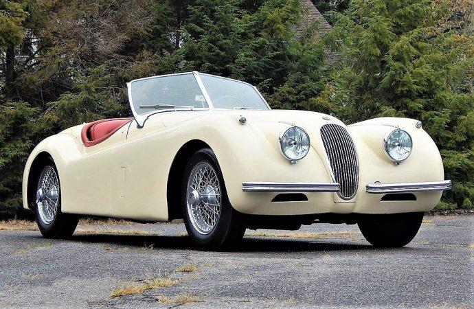 Royal getaway 1954 Jaguar XK120