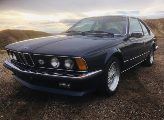 Bimmer beauty, 1984 635CSI