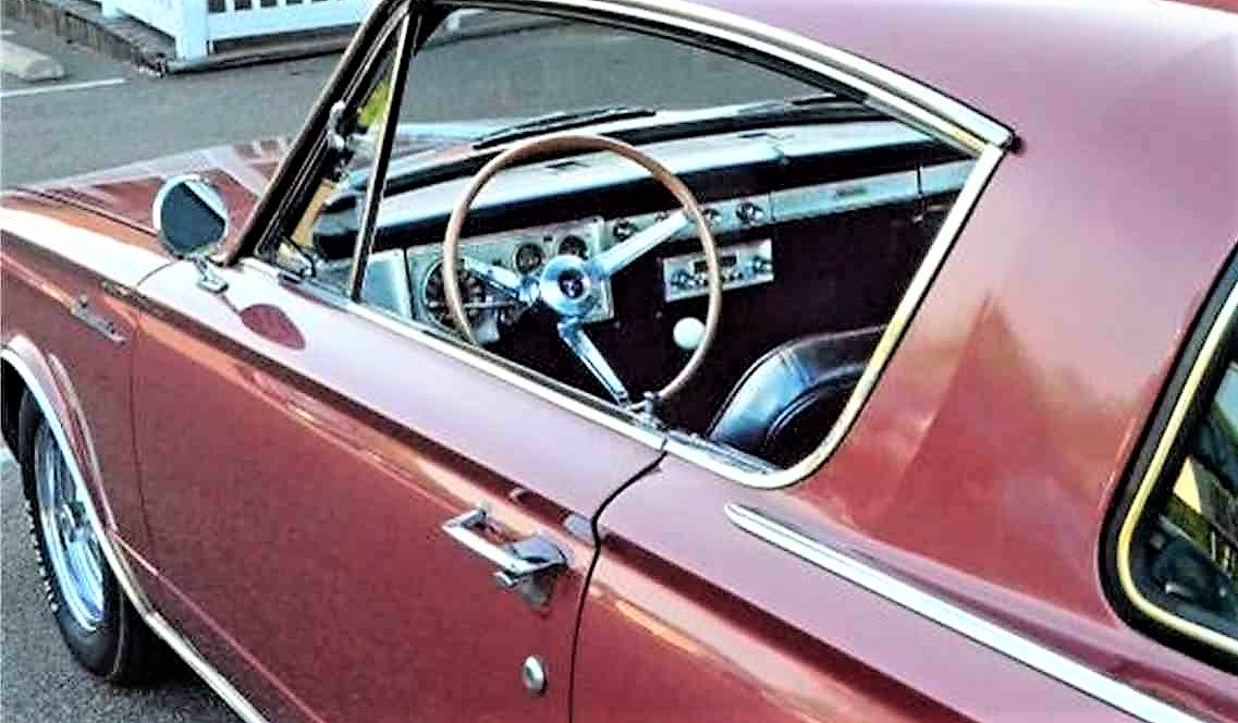 The interior of the Barracuda is said to be immaculate