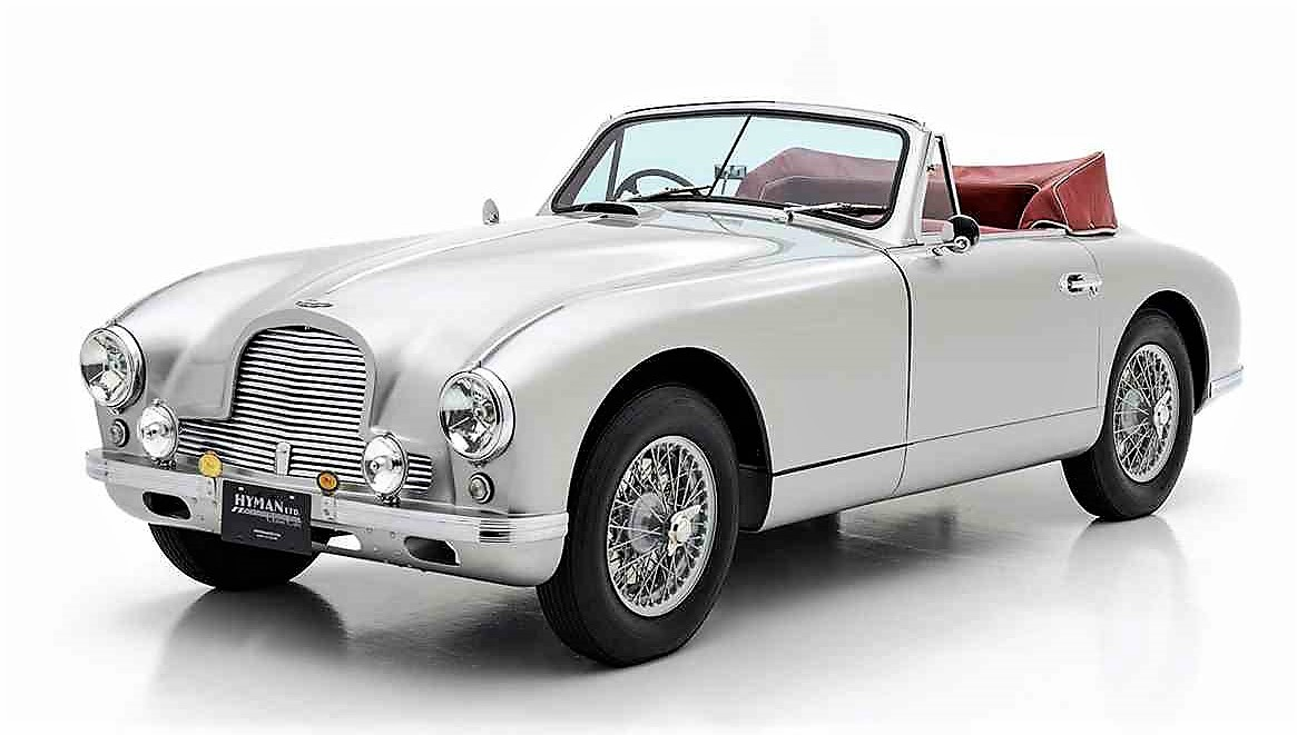 Woodside's highest loan is $600,000, about the price of this 1952 Aston-Martin | ClassicCars.com ad photo