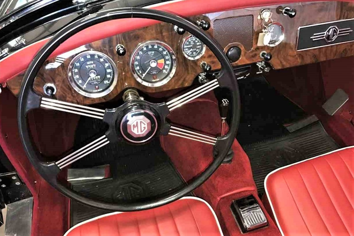 Classic 1960s sports cars, such as this MGA, can only be driven with three peddles | ClassicCars.com photos