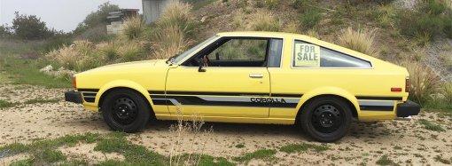 Garage-found 1980 Corolla liftback