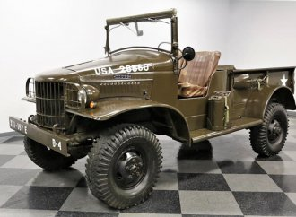 Military-grade 1941 Power Wagon