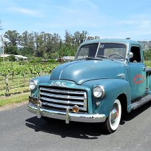 Honest patina 1950 GMC pickup