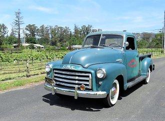 Honest patina 1950 GMC pickup