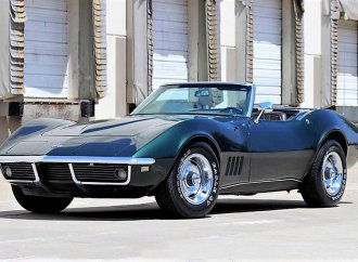 Entry-level 1968 Corvette droptop