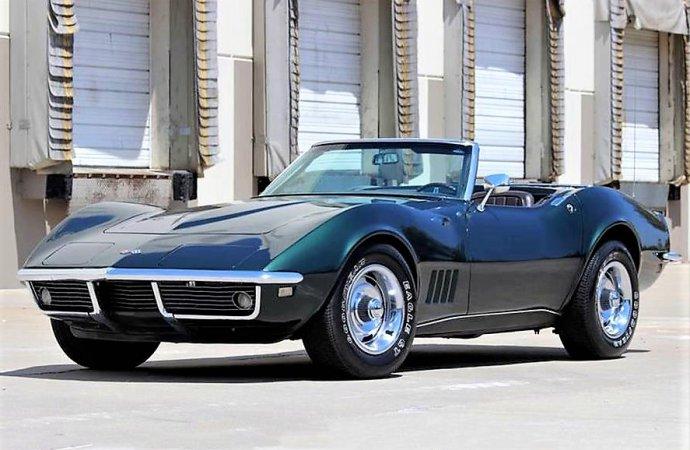 Entry-level 1968 Corvette droptop