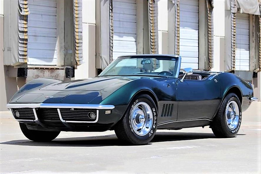 The Corvette roadster is said to be a numbers-matching example