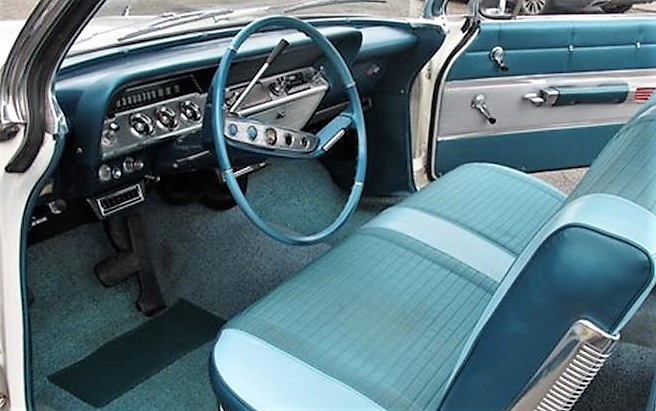 The interior looks to be in great condition