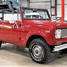 Adventure-ready 1971 Scout