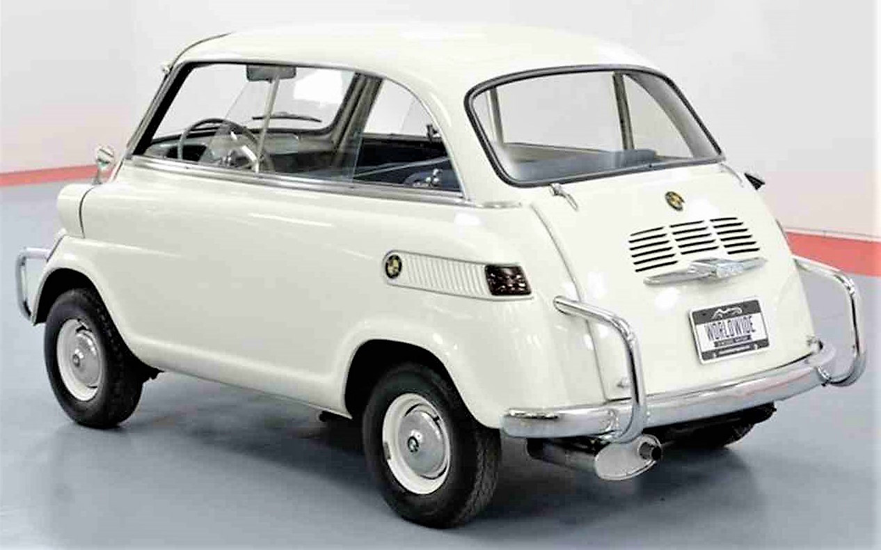 The Isetta 600 has some nice styling flourishes